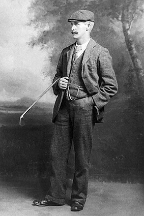 Golfer John Henry Taylor British Open Golf Photo Print