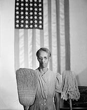 Gordon Parks American Gothic 1942 Photo Print for Sale