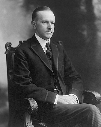 Governor Calvin Coolidge Portrait Photo Print