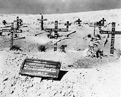 Graves of French Soldiers North Africa WWII Photo Print