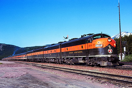 Great Northern Railway 'Empire Builder' 361-A Train Photo Print