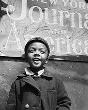 Harlem Newsboy New York City Gordon Parks Photo Print