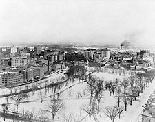 Hartford, Connecticut After Snowfall 1916 Photo Print for Sale
