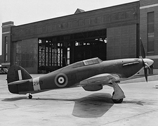 Hawker Hurricane British WWII Aircraft Photo Print
