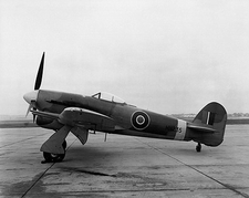 Hawker Typhoon British WWII Aircraft Photo Print