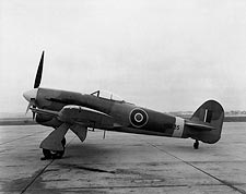 Hawker Typhoon Photos