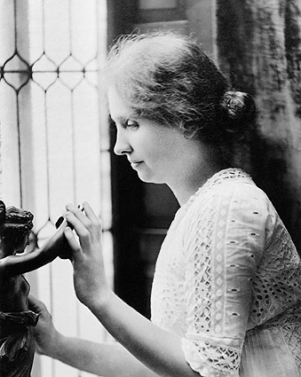 Helen Keller Portrait 1912 Photo Print