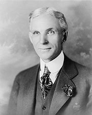 Henry Ford Head & Shoulder Portrait 1919 Photo Print for Sale