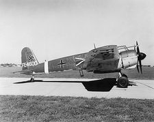 Henschell Hs-129 German WWII Plane Photo Print