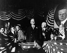 Herbert Hoover Presidential Convention Photo Print for Sale