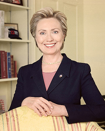 Hillary Rodham Clinton Color Portrait Photo Print