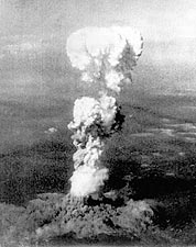Hiroshima Mushroom Cloud Atomic Bomb Photo Print for Sale