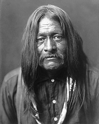 Hoo-Man-Hai Edward S. Curtis Portrait Photo Print