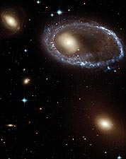 Hubble Space Telescope Ring Galaxy Photo Print for Sale
