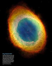Hubble Space Telescope Ring Nebula M57 NASA Photo Print for Sale