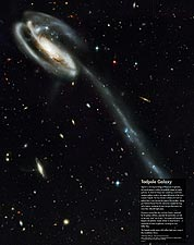 Hubble Space Telescope Tadpole Galaxy Photo Print for Sale