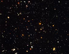 Hubble Ultra Deep Field Galaxies Hubble Space Telescope Photo Print for Sale