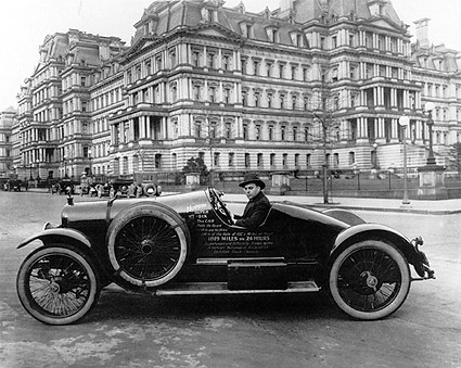 Hudson Super Six Car Washington, D.C. 1920 Photo Print