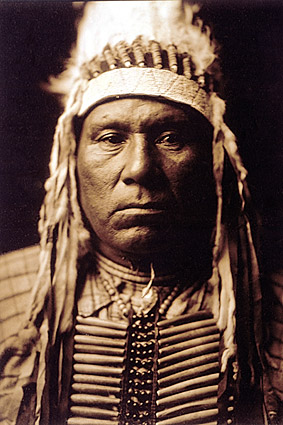 Indian Ow High Edward S. Curtis Portrait Photo Print