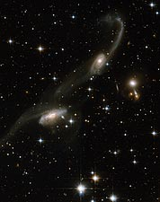 Interacting Galaxy ESO 69-6 Hubble Space Telescope Photo Print for Sale
