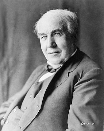 Inventor Thomas Alva Edison Portrait 1922 Photo Print
