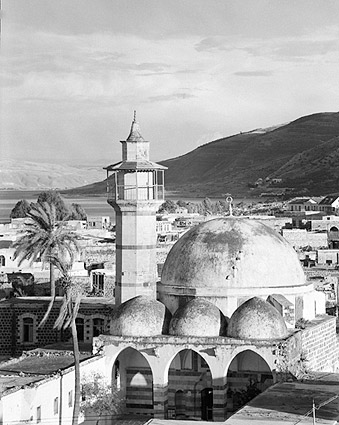 Israel Old Mosque Tiberias Sea of Galilee Photo Print