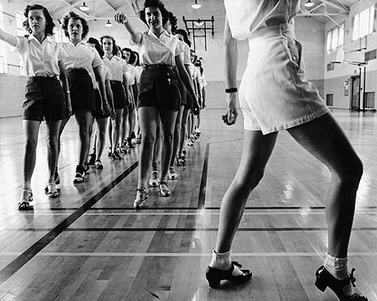 Jack Delano Iowa State College Tap Dancers Photo Print