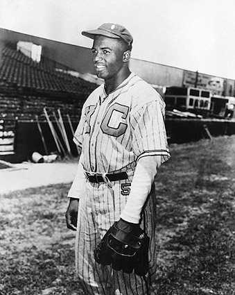 Jackie Robinson Kansas Monarchs Baseball Photo Print