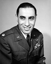 James Jabara 1st Fighter Jet Ace in Uniform Photo Print for Sale