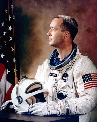 James McDivitt Gemini 4 Astronaut WSS Portrait NASA Photo Print