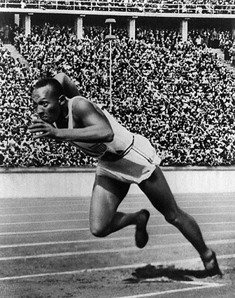 Jesse Owens 1936 Berlin Olympics Photo Print