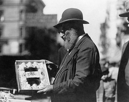 Jewish Street Vendor East Side, New York Photo Print