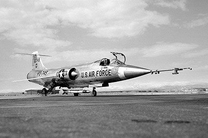 JF-104A Starfighter Ground View F-104 Photo Print