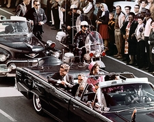 JFK Dallas Motorcade Before Assassination Photo Print