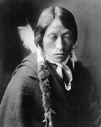 Jicarilla Indian Edward S. Curtis Portrait Photo Print