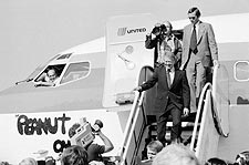 Jimmy Carter Campaign Airplane 'Peanut One' Photo Print for Sale