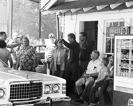 Jimmy Carter Campaign Stop Plains Georgia Photo Print