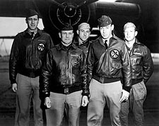 Jimmy Doolittle w/ B-25 & Crew WWII Photo Print for Sale