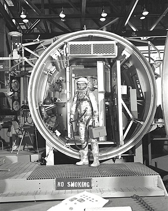 John Glenn Mercury Test Chamber Photo Print
