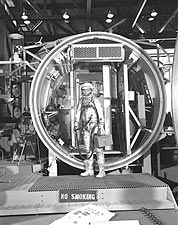 John Glenn Mercury Test Chamber Photo Print for Sale