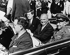 John Glenn w/ President Kennedy Photo Print for Sale