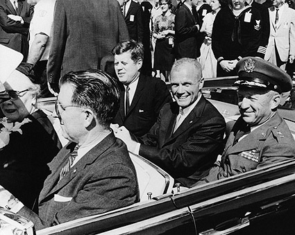 John Glenn w/ President Kennedy Photo Print
