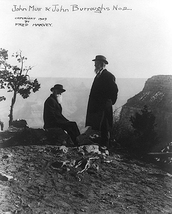John Muir & John Burroughs, Grand Canyon Photo Print