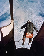 Joseph Kittinger Excelsior III Record-Breaking Skydive Photo Print for Sale