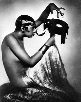 Josephine Baker Portrait 1925 Photo Print