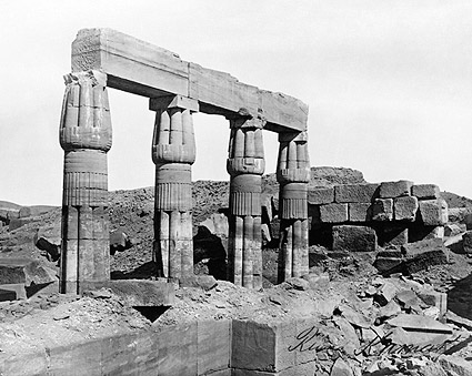 Karnak Temple Complex Ancient Ruins Egypt Photo Print