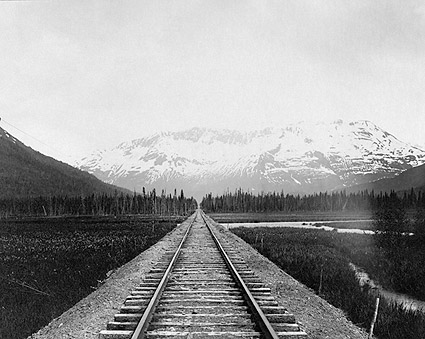 Kenai Peninsula Railroad Alaska Early 1900s Photo Print