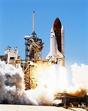 Kennedy Space Center STS-121 Shuttle Launch Photo Print for Sale