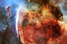 Keyhole Nebula Hubble Space Telescope Photo Print for Sale