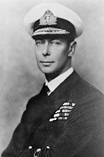 King George VI Great Britain WWII Portrait Photo Print for Sale